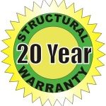20 Year Patio Structural Warranty