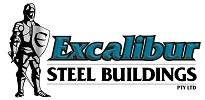 Excalibur Steel Buildings Logo Landscape